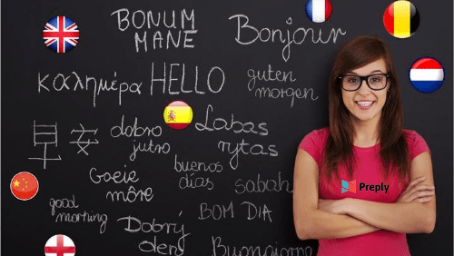 Говорите смело на любом языке с репетиторами Preply со всего мира или станьте репетитором и зарабатывайте!